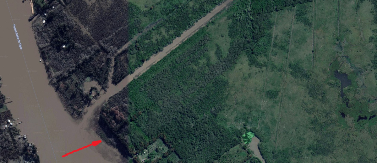 isla canal del este / honda (delta del paraná) 6 lotes