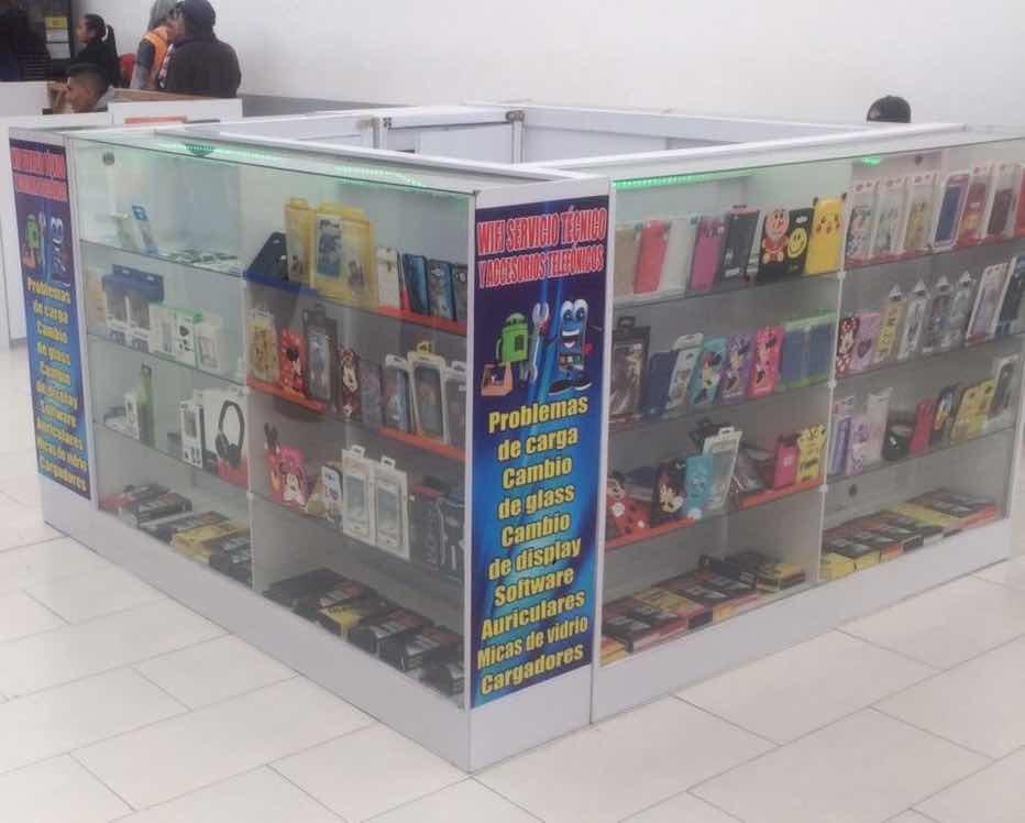 32bab3e17d0 Isla De Accesorios Telefónicos - U$S 3.500,00 en Mercado Libre