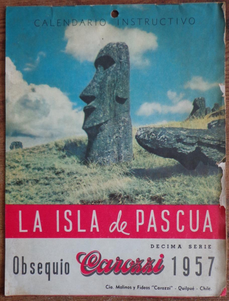 Calendario Del Ano 1957.Isla De Pascua Calendario 1957 Fotos 38 000