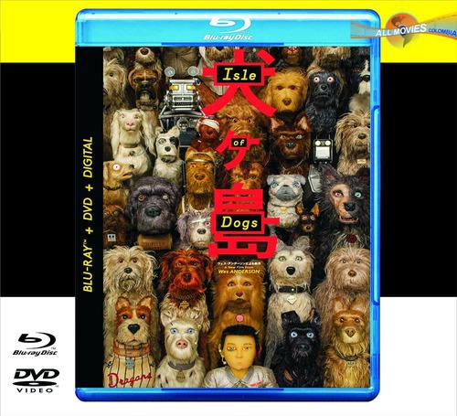 isla de perros (2018) blu-ray + dvd + hd original!!