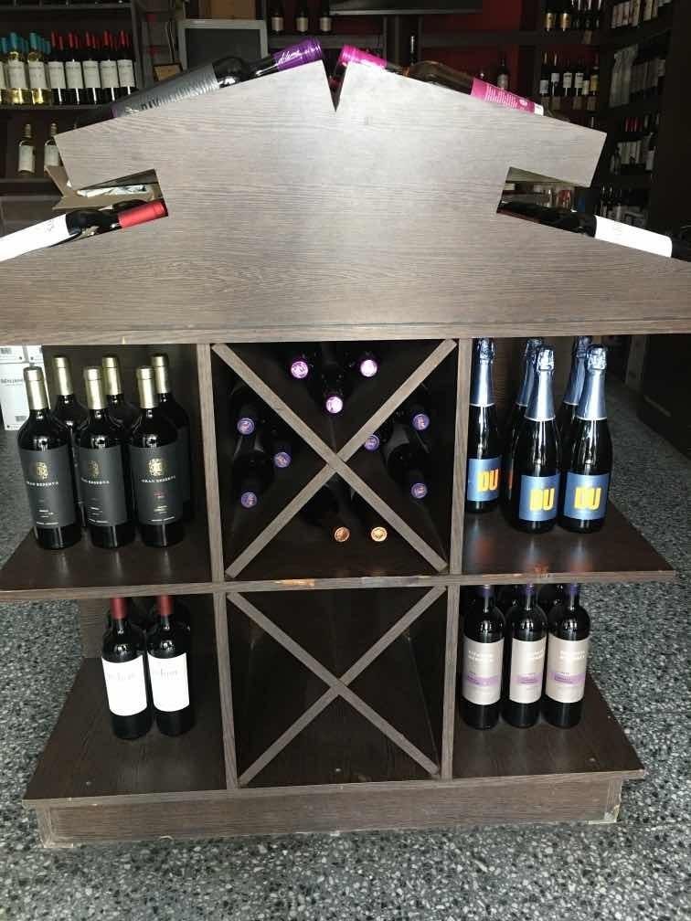isla de vinos para vinoteca