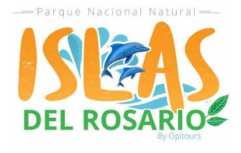 isla del rosario y playa tranquila en lancha