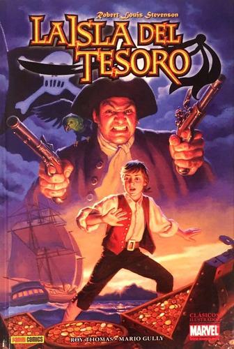 isla del tesoro - clásicos marvel - roy thomas - stevenson