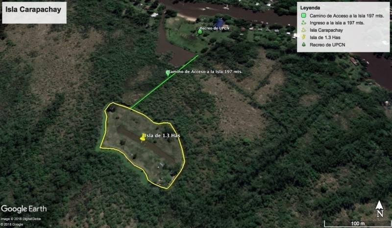 isla ideal para complejo de cabañas o uso privado