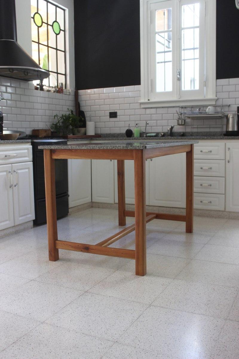 Isla-mesada De Cocina En Pinotea Y Granito. Becca Estudio - $ 14.600 ...