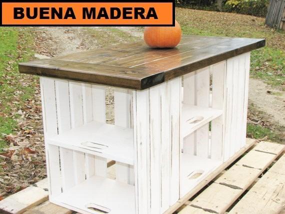 Great Mesas De Cocina Madera Rustica Pictures >> Mesas De Cocina ...