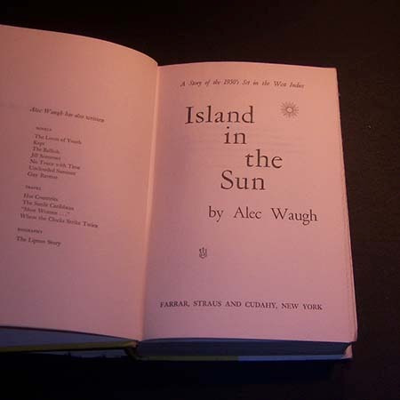 island in the sun . alec waugh