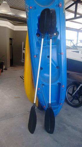 island kayak doble + 2 remos en motonautica aventura!