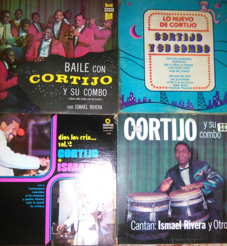 ismael rivera e ismael y cortijo lp salsa variada