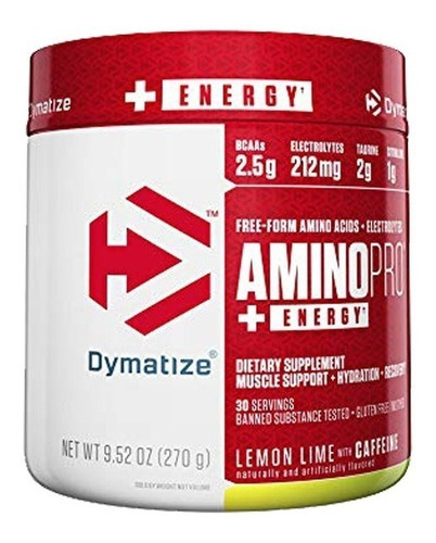 iso 100 5lbs + amino pro energy fruit p + envío gratis