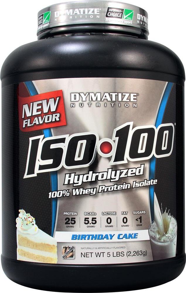 Iso 100 Dymatize 5lbs 23kg