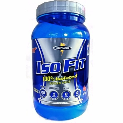 iso fit proteina 100% isolatada neopharma x 4 lb invima