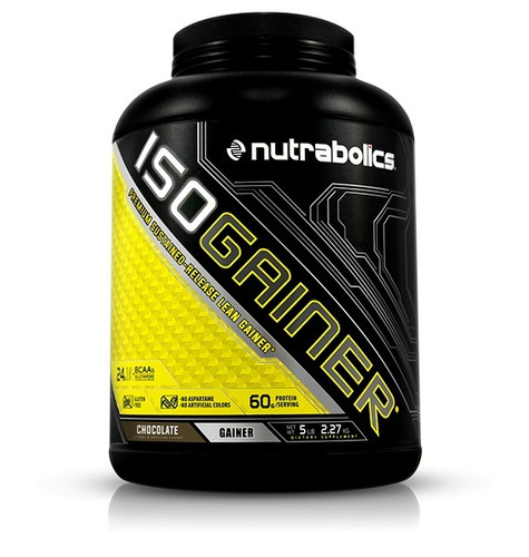 iso gainer - nutrabolics / 5 lbs /10 lbs