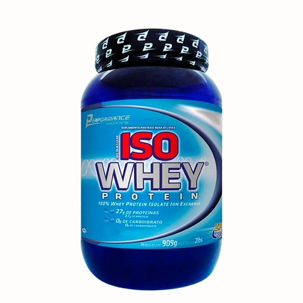 313263233 Iso Whey Protein - Performance Nutrition (909g) - Chocolate - R  189 ...