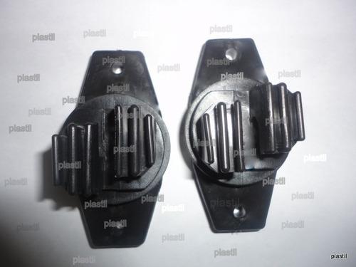 isolador cerca eletrica tipo w reforçado (240 unidades)