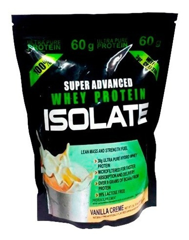 isolate super advance whey protein 2lb - l a $24000