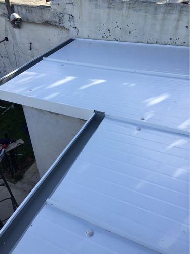 isopanel colocado techo chapas