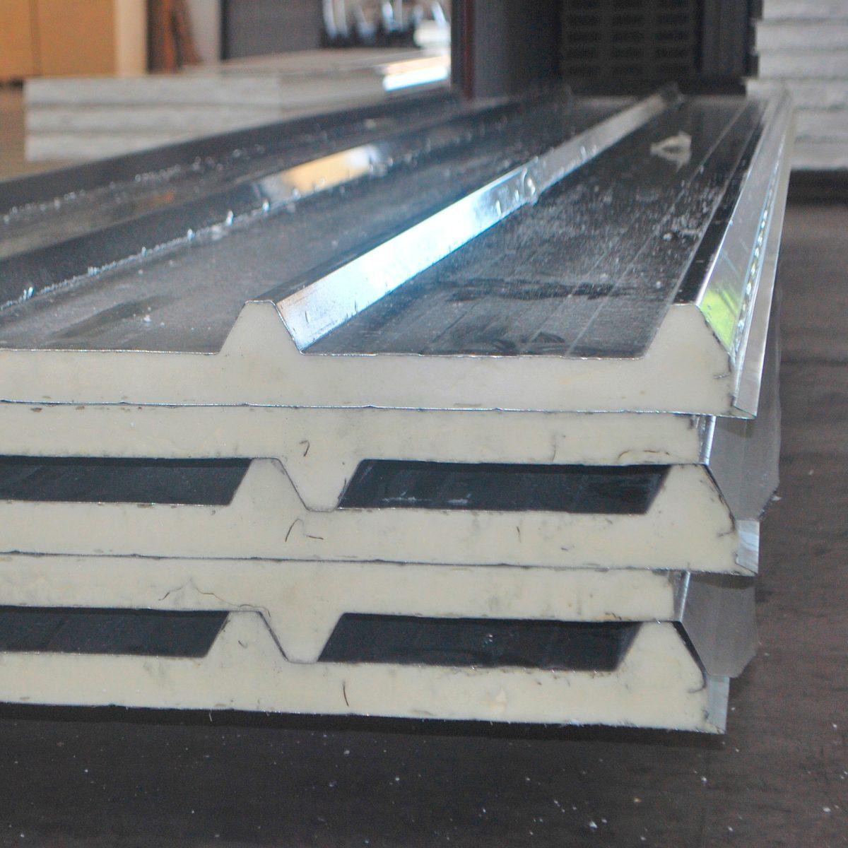 isopanel paneles de poliuretano para techos