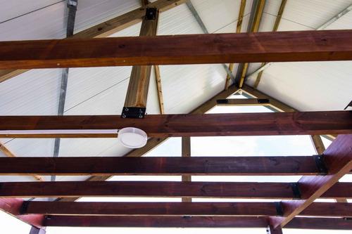 isopanel para techo de poliuretano - techos eficientes
