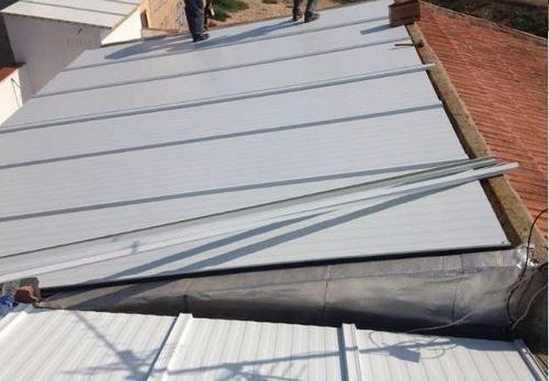 isopanel techo 10cm, instalado