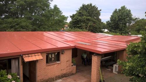 isopanel, techos, reformas, montajes, soluciones edilicias