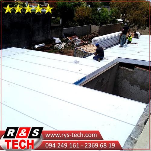 isopanel,techo, instalación,paredes,cámaras de frío