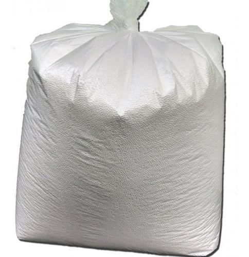isopor pérolas bolinha enchimento puff artesanato 100 litros