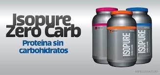 isopure zero carb 4.5 lb iso whey protein registro sanitario