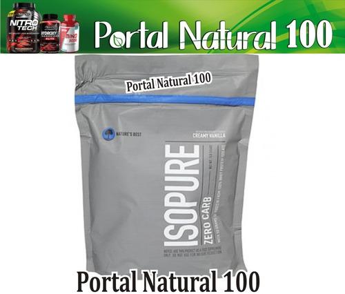isopure zero carb | proteína sin carbohidratos x 1 libra