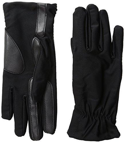 isotoner women x26 39 s spandex smartouch gloves, black, sma