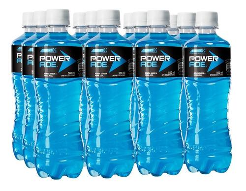 isotónico powerade mora azul pet 500ml 12 unidades.