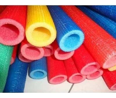 *isotubo blindado  p/cama elastica color kit com 16