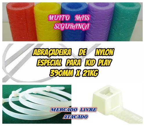 isotubo blindado p/kid play furo de 54mm kit c/15 mts oferta
