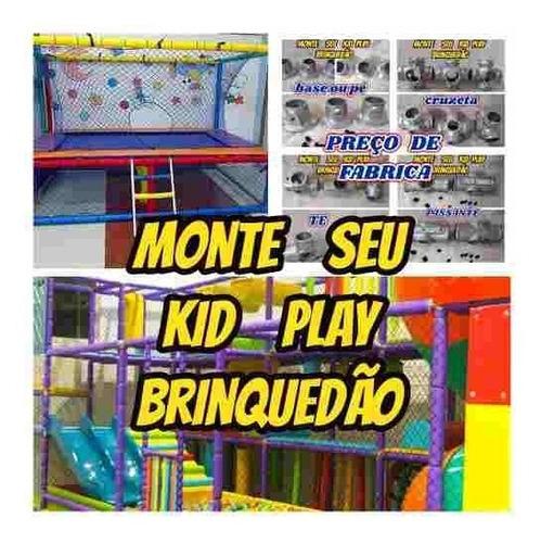 isotubo blindado p/kid play oferta de fabrica kit c/20mts