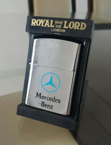 isqueiro mercedes-benz - royal lord na caixa original