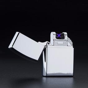 Isqueiro Plasma Laser Recarregável Prova Vento Estilo Zippo