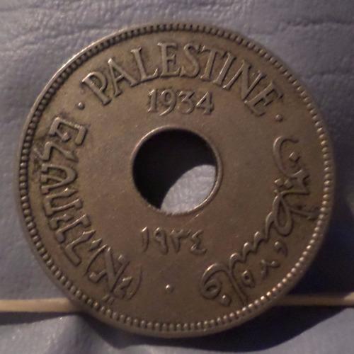 israel palestina 10 mils 1934 exc
