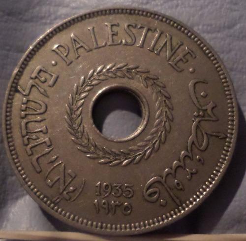 israel palestina 20 mils 1935  exc-