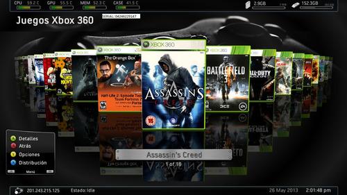 istalacion de juegos rgh para tu xbox 360