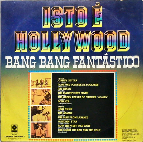 isto é hollywood lp bang bang fantastico 13361