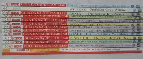istoé guia da saúde familiar + medicina chinesa - 14 volumes