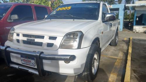 isuzu dmax cabina sencilla blanca 2005