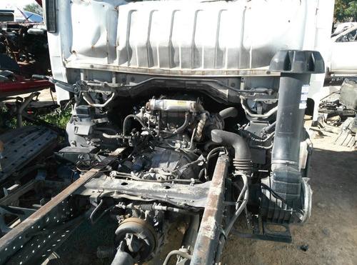 isuzu elf 600 accidentado 4cil diesel por partes