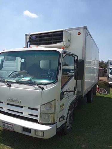 isuzu elf500 con caja refrigerada