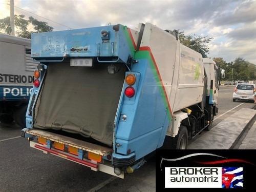 isuzu npr camion basura 4x4 mecanico