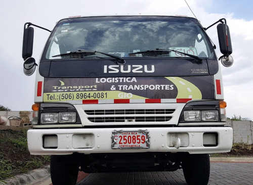isuzu npr modelo 2000 motor 4.8  recibo pick up doble cabina