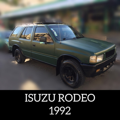 isuzu rodeo 1992