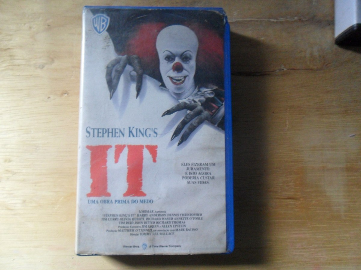 It A Obra Prima Do Medo Great it uma obra prima do medo - stephen king legendado vhs - r$ 16,44
