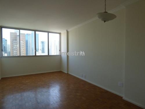 itaim bibi / apartamento reformado, andar alto com vista espetacular!! - di36573