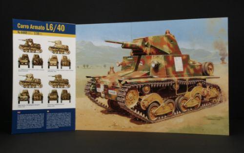 italeri-tanque italiano carro armato l6/40